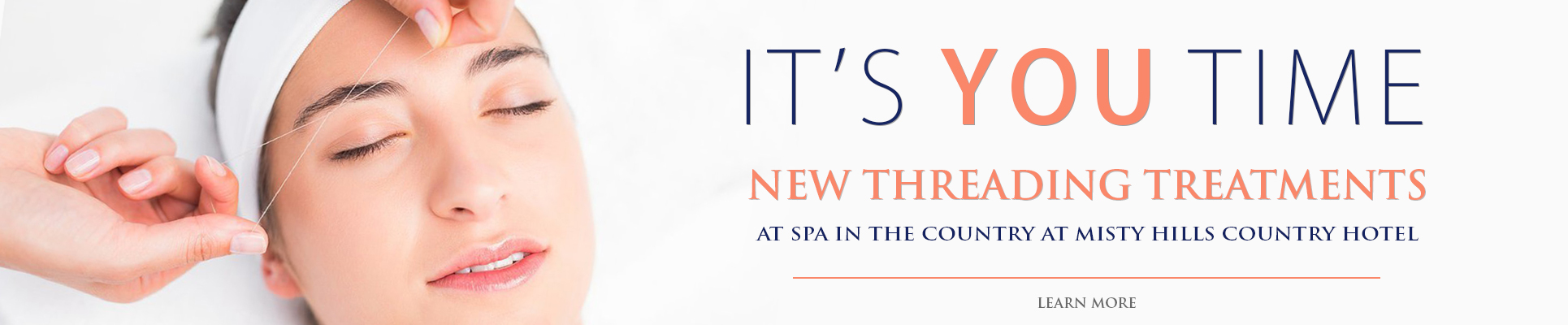 Spa in the Country Threading Treatment Package launch Spas in Gauteng
